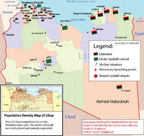 Who controls Libya? Map of Thursday's balance of power | Kia