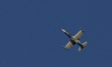 Syrian military plane