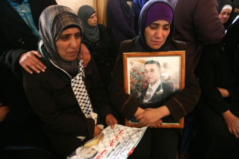 The Funeral of Arafat Jaradat in the West Bank village of Se'eer
