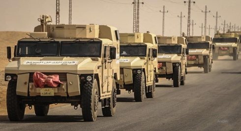 Egypt reinforces its armies in Sinai