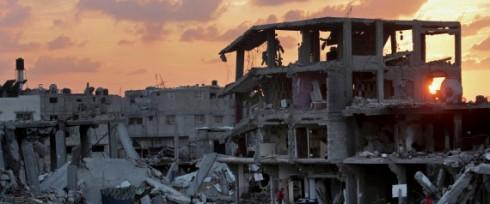 APTOPIX Mideast Palestinians Gaza Reconstruction