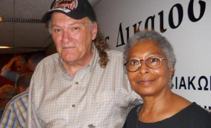 Alice-Walker-and-Robert-Lovelace-aboard-the-Freddom-Flotilla-e1309900395946