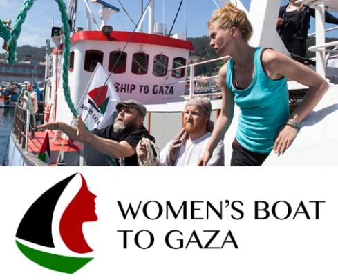 Resultado de imagem para Women's Boat to Gaza