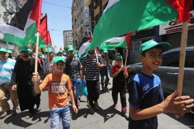 20160702_Gaza-celebrates-flags-quds-jerusalem-day-1