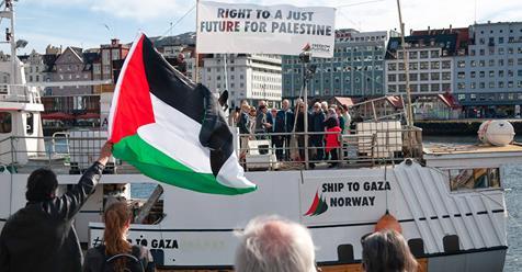 four freedom flotilla boats gather in amsterdam | kia ora gaza